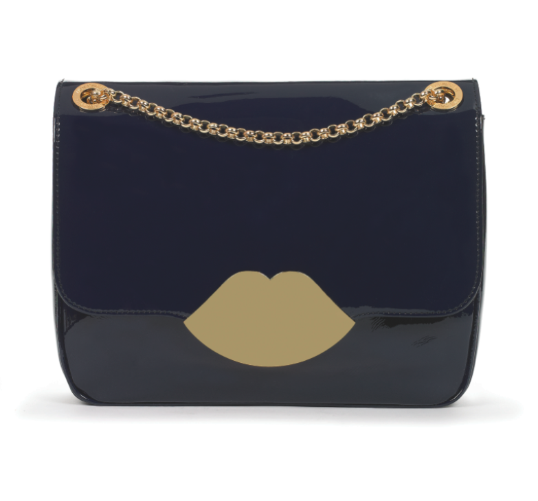 Large Navy Annabelle