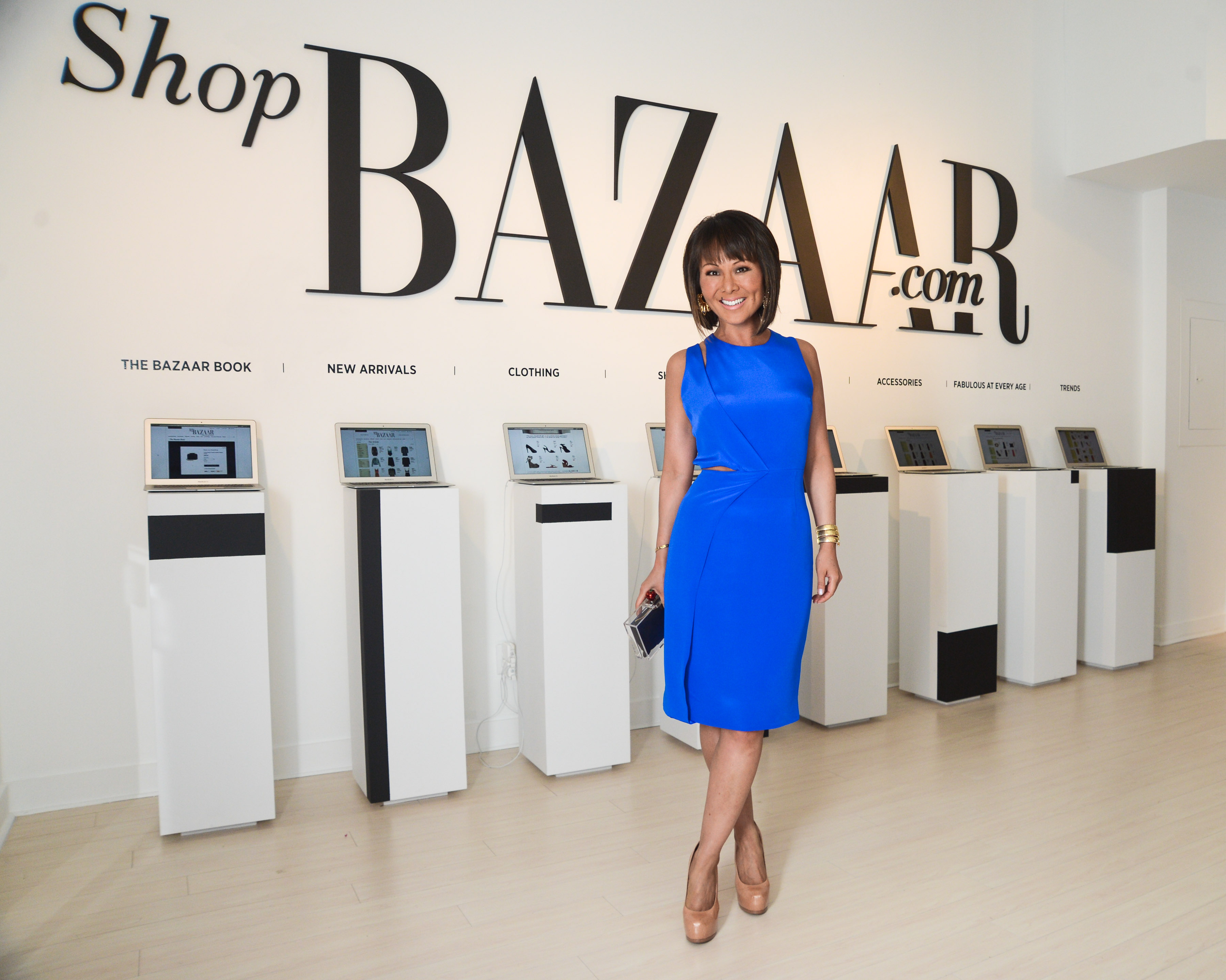 Alino Cho - Harper's BAZAAR Editor-in-Chief, Glenda Bailey hosts an exclusive cocktail reception to celebrate ShopBAZAAR during Art Basel Miami Beach with a menu by Chef John DeLucie