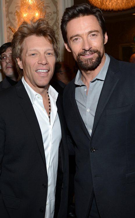 Jon Bon Jovi & Hugh Jackman