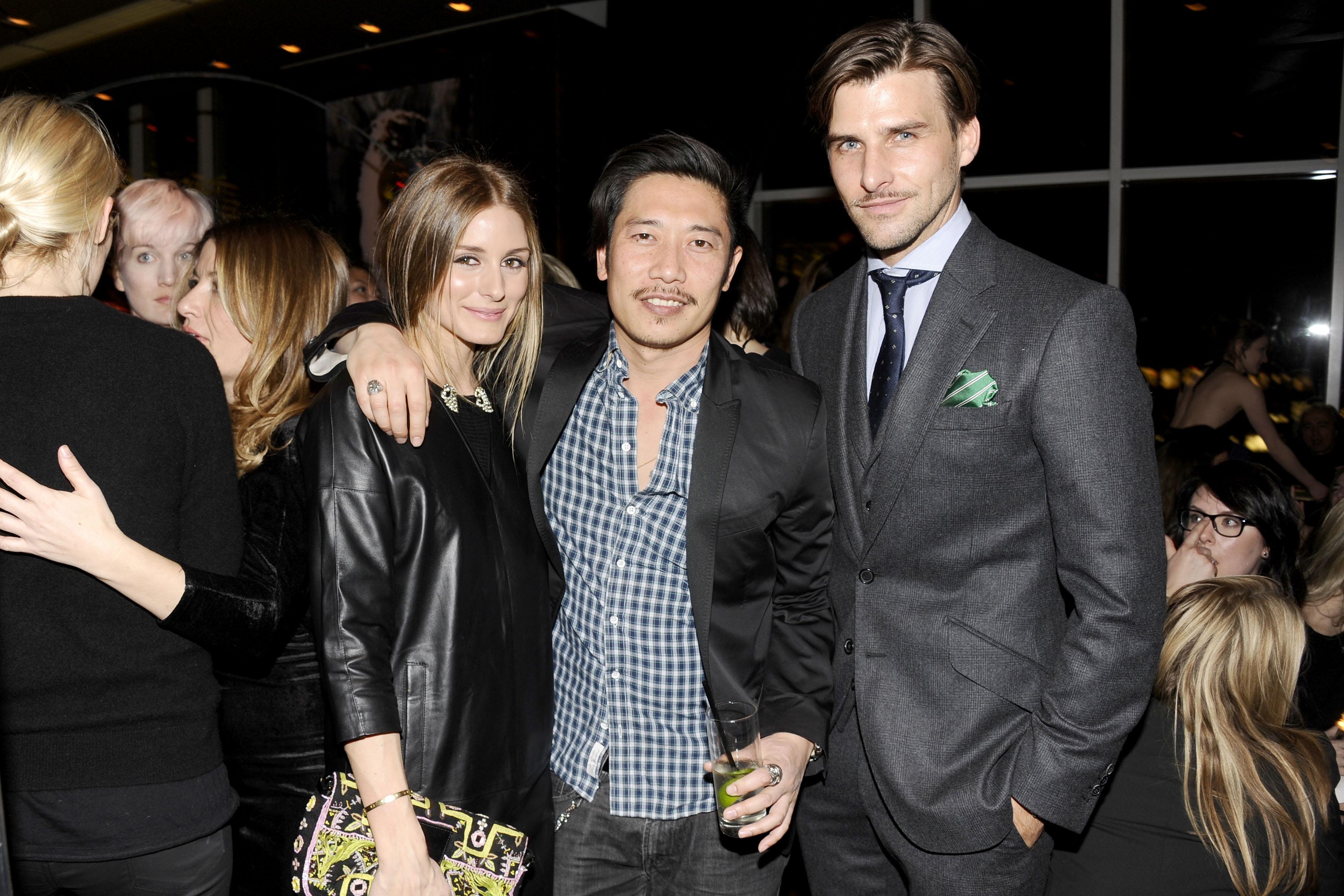 Olivia Palermo, Greg Chan, Johannes Huebl
