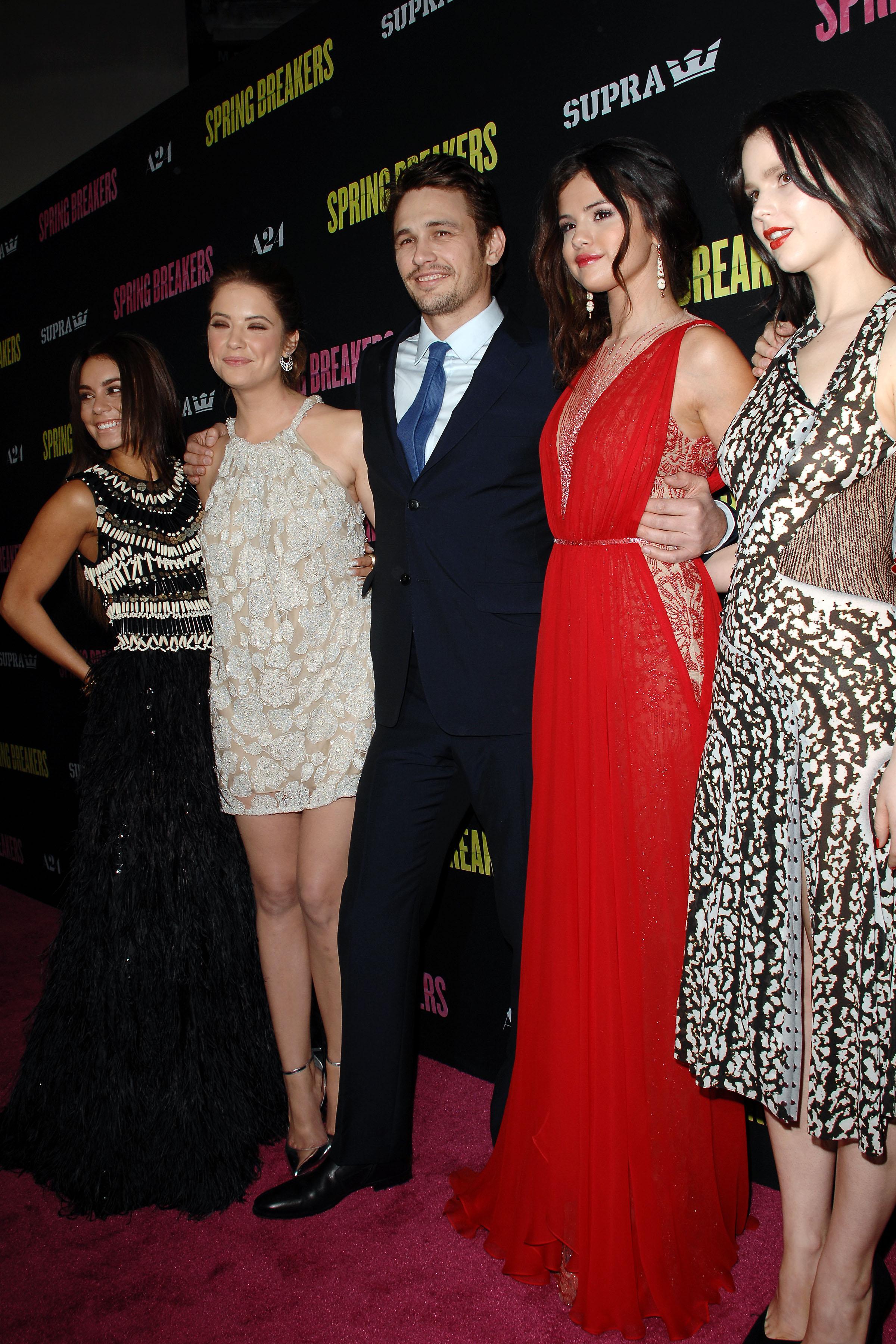 Vanessa Hudgens, Ashley Benson, James Franco, Selena Gomez, Rachel Korine - Supra Presents the SPRING BREAKERS LA Premiere and After Party