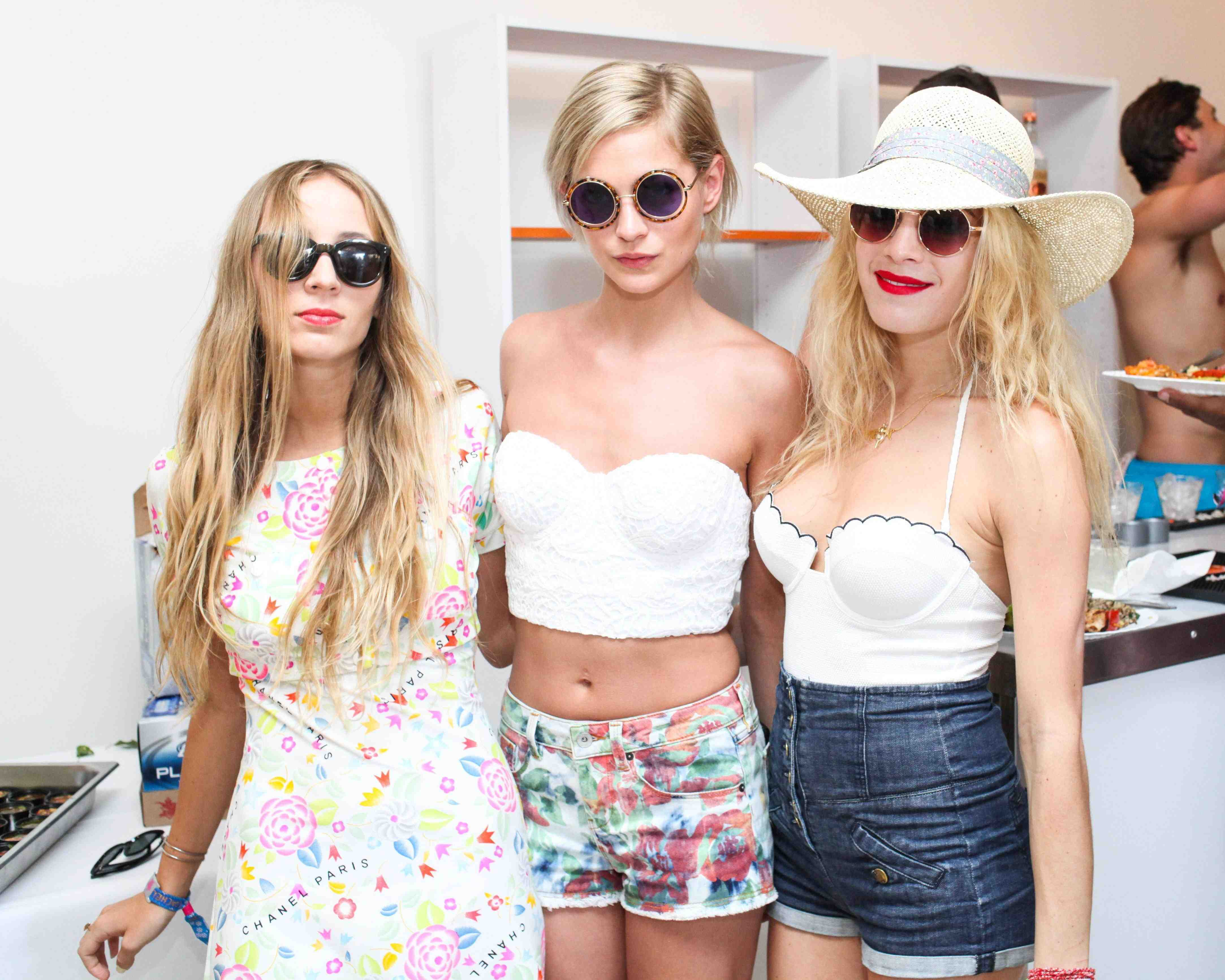 Harley Viera Newton, Leigh Lezark, & Chelsea Leyland - NYLON x BOSS ORANGE Escape House