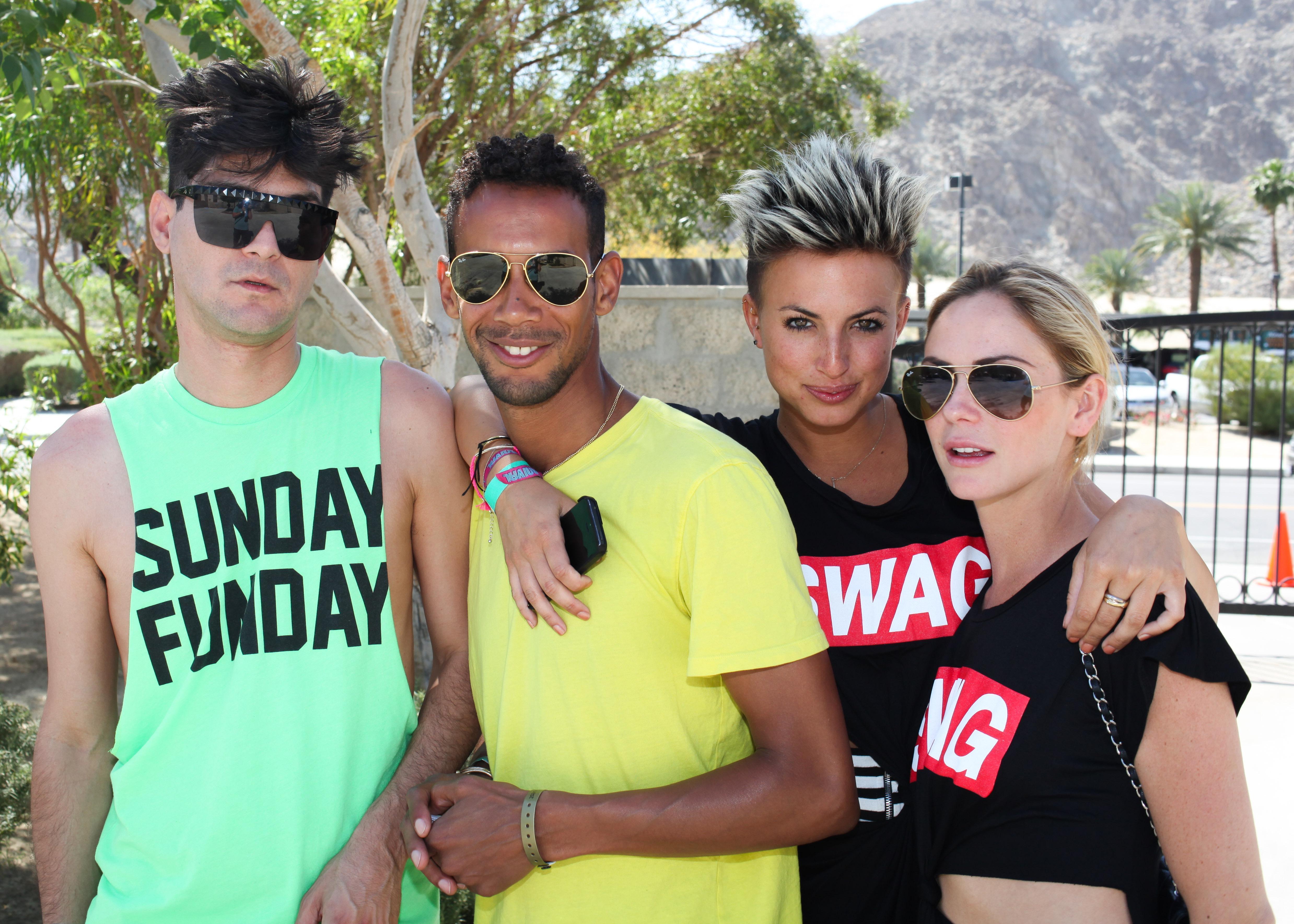 Rich MF Royal, Darryl Gibson, Jenna King, Keely Julian - NYLON x BOSS ORANGE Escape House