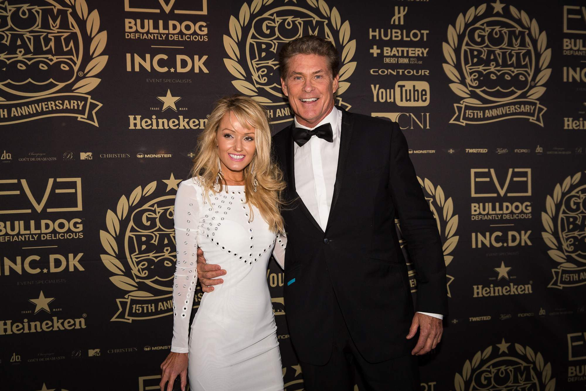 David Hasselhoff and Hailey