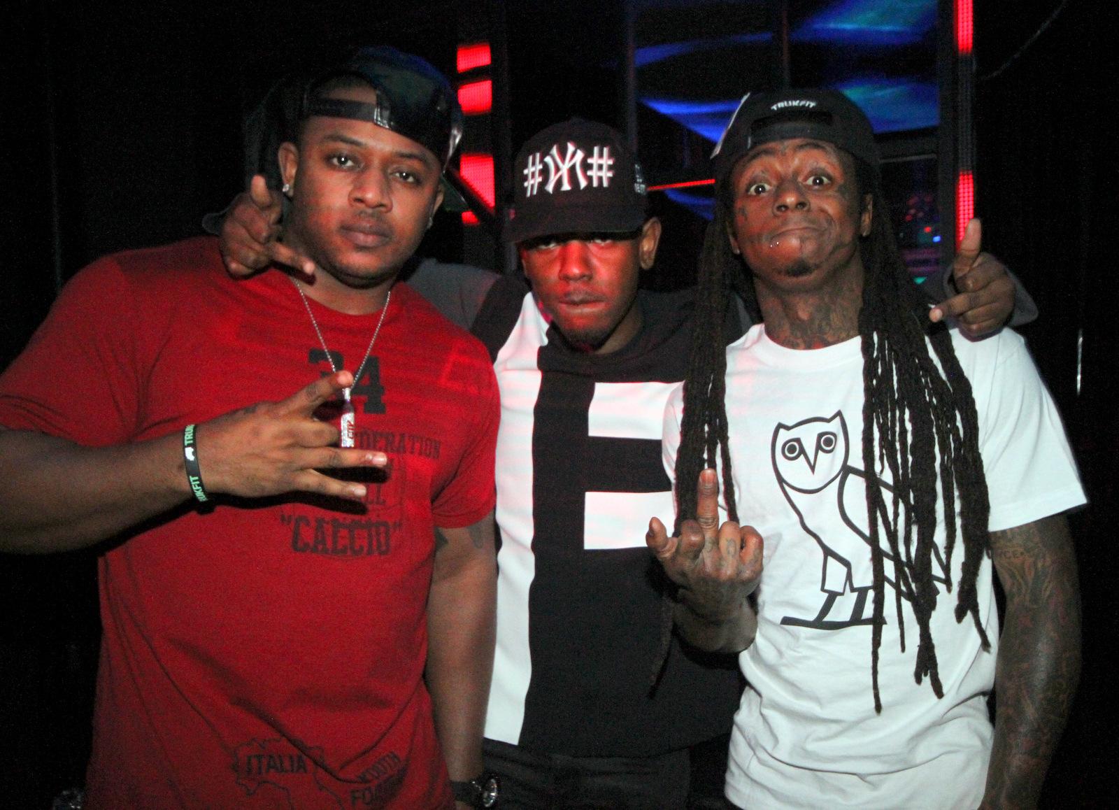 Mack Maine, Kendrick Lamar & Lil Wayne