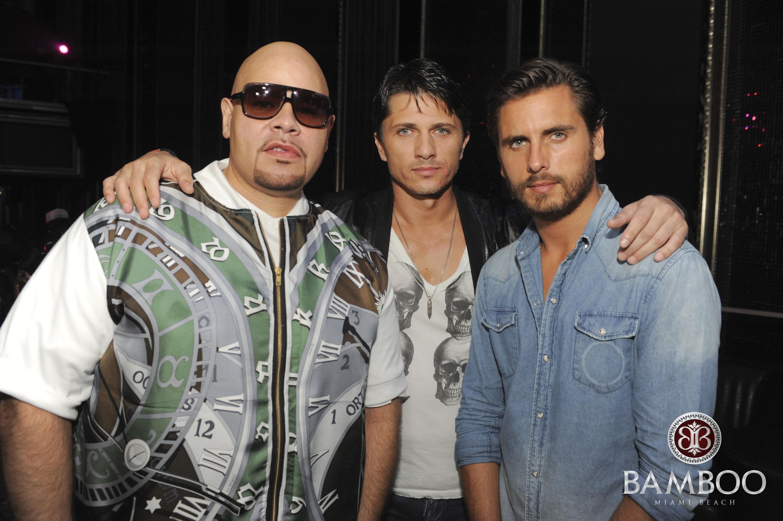 Fat joe, Theo Pasa and Scott Disick