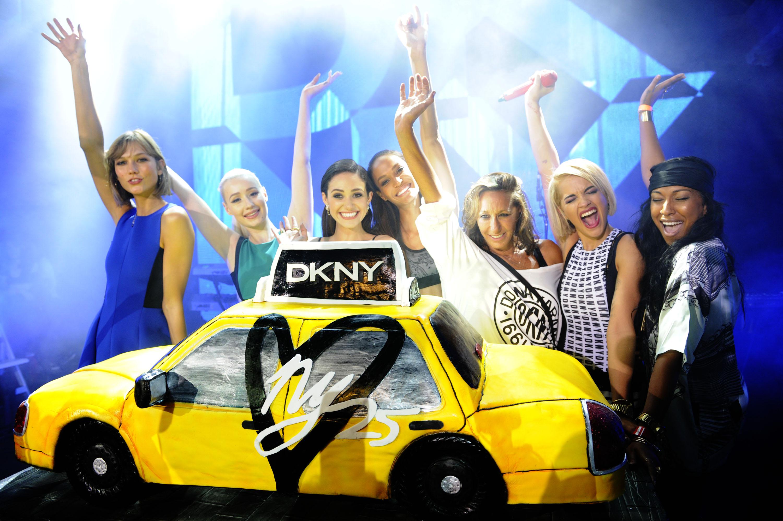 Karlie Kloss, Iggy Azalea, Emmy Rossum, Donna Karan, Rita Ora, Melanie Fiona - #DKNY25 Birthday Bash - photo by Seth Browarnik/startraksphoto.com