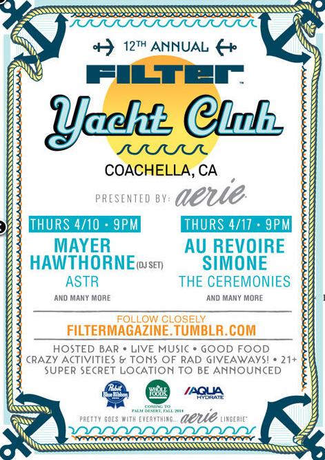 Filter Yacht Club