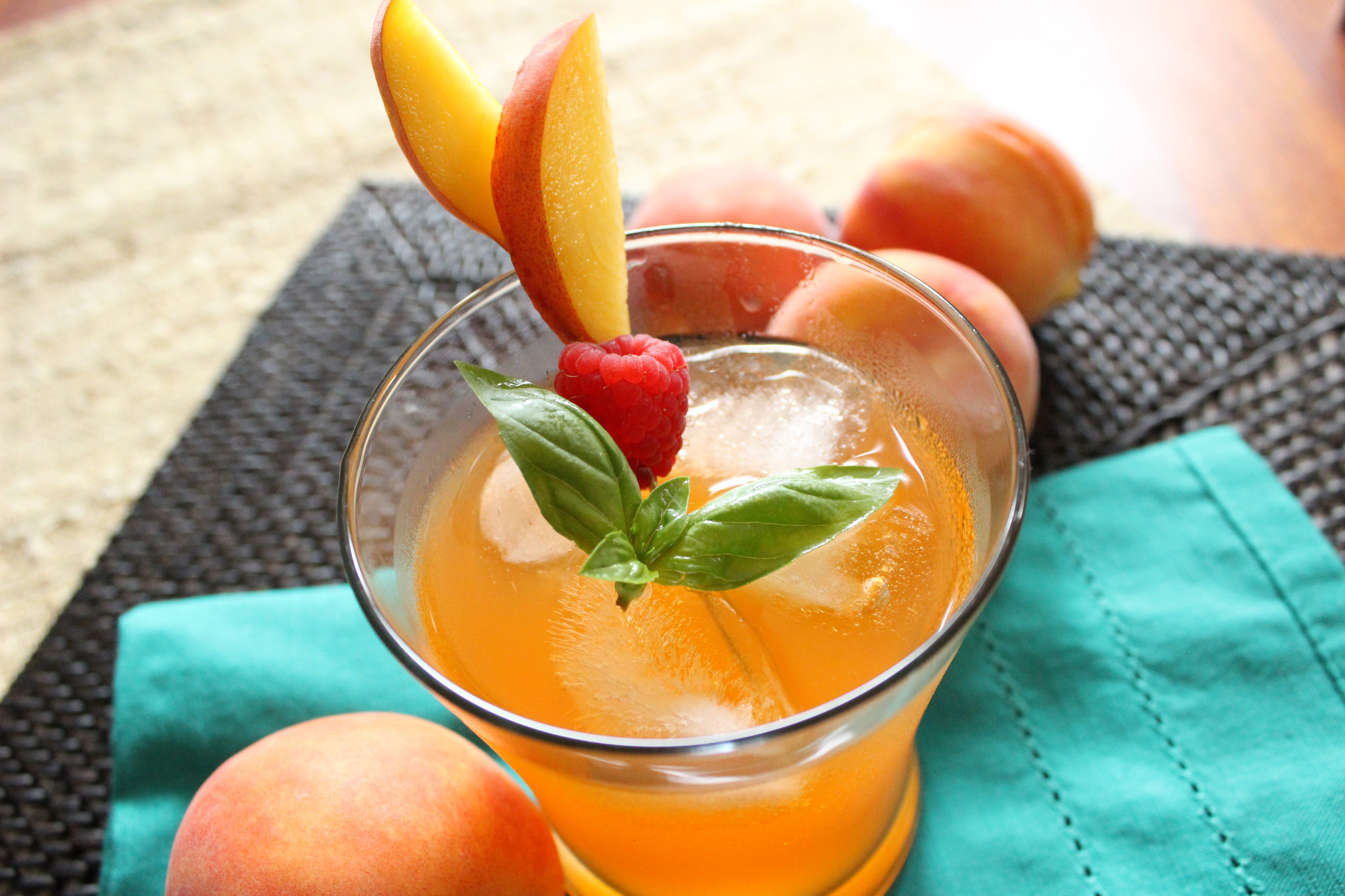 Peach Lemonade Fizzler