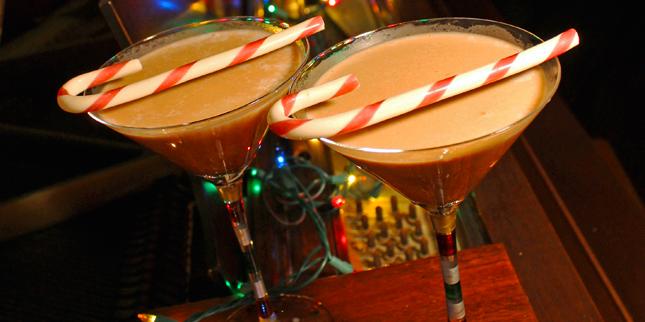 Chocolate Peppermint Margarita