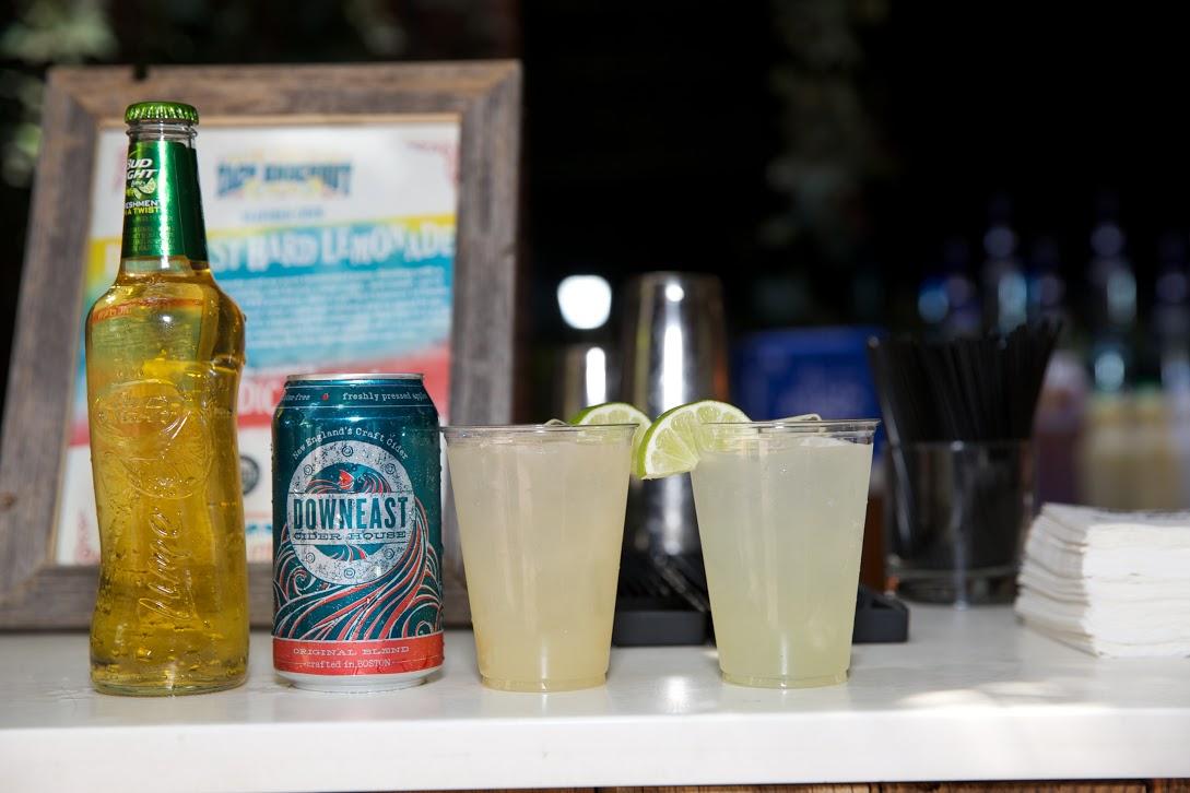 Bud Light Lime, Downeast Cider, Milagro Margaritas