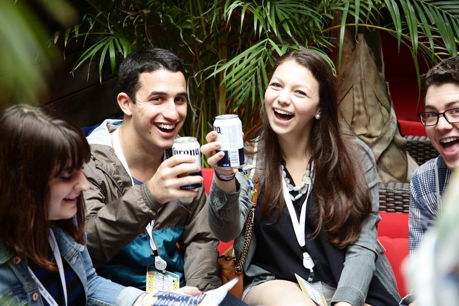 Corona Cheers at Delancey