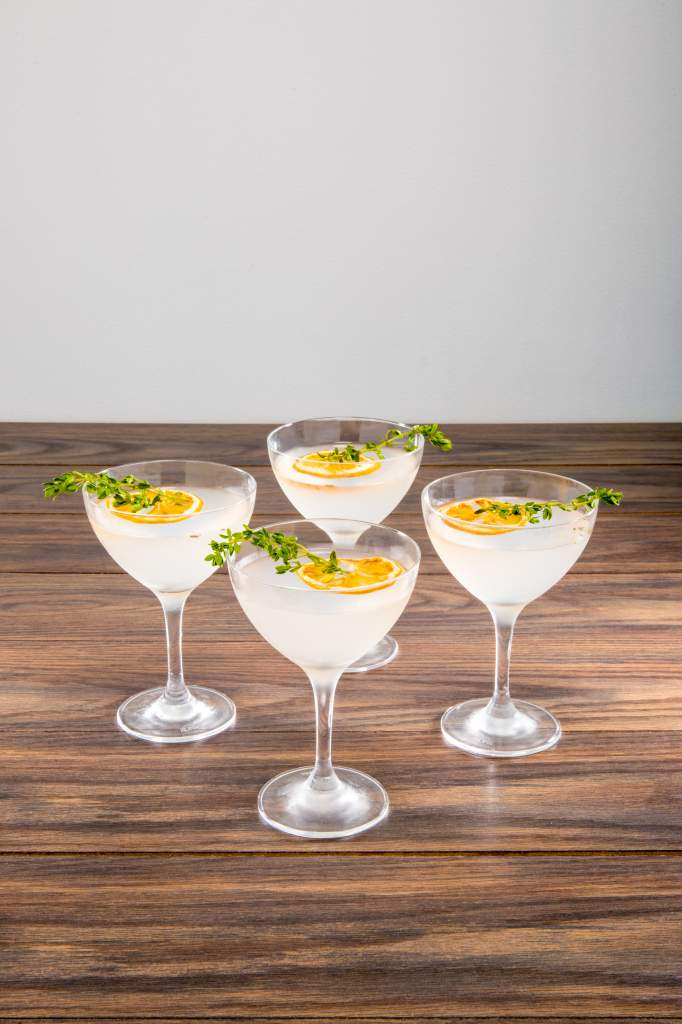 Summer Thyme Martini