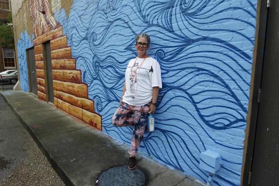 Bombay Sapphire mural unveiling. New Orleans, LA 7.1.15 Photo: Tyler Kaufman/©2015