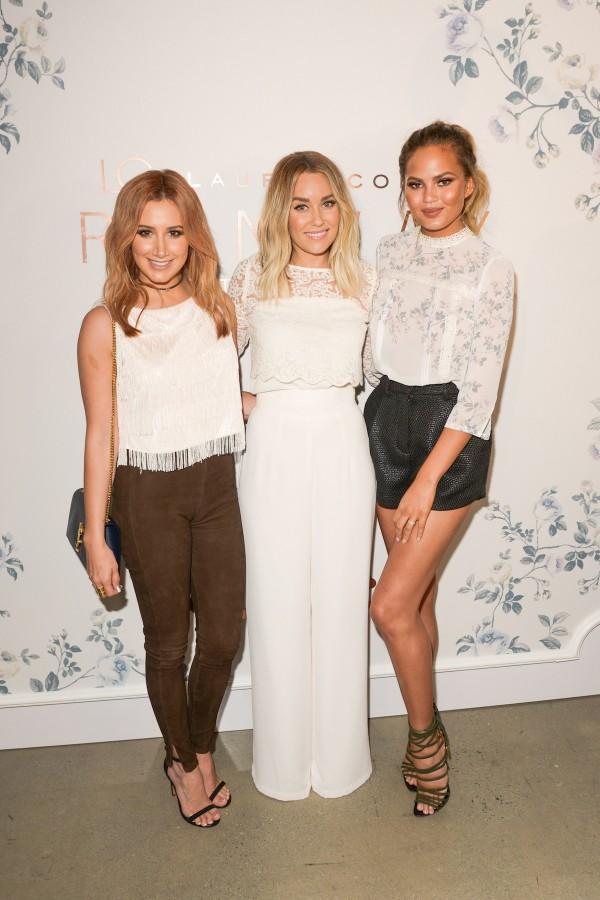 Ashley Tisdale, Lauren Conrad, Chrissy Tiegen