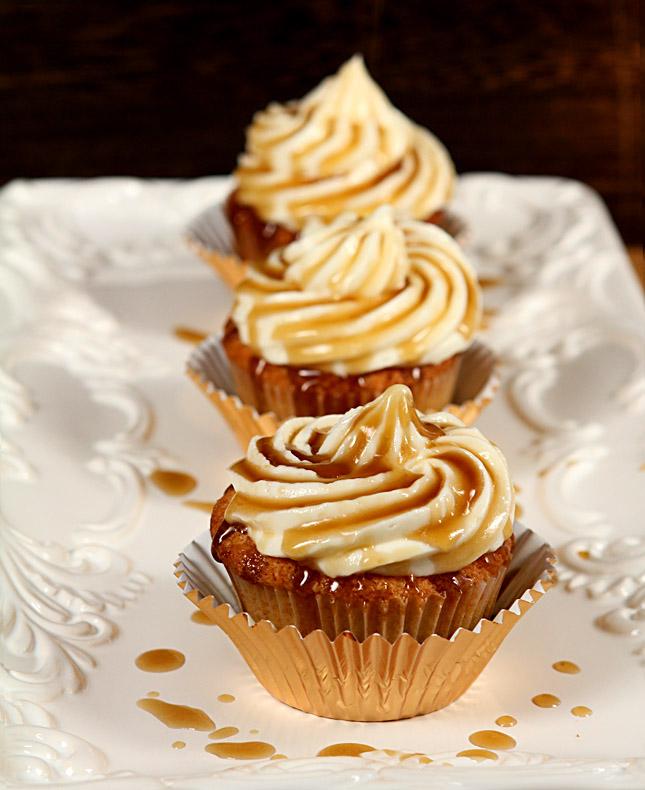 Jack Honey Cupcakes