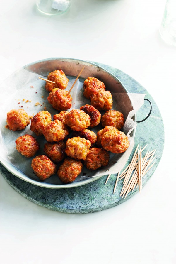 Sausage & Cheddar Balls