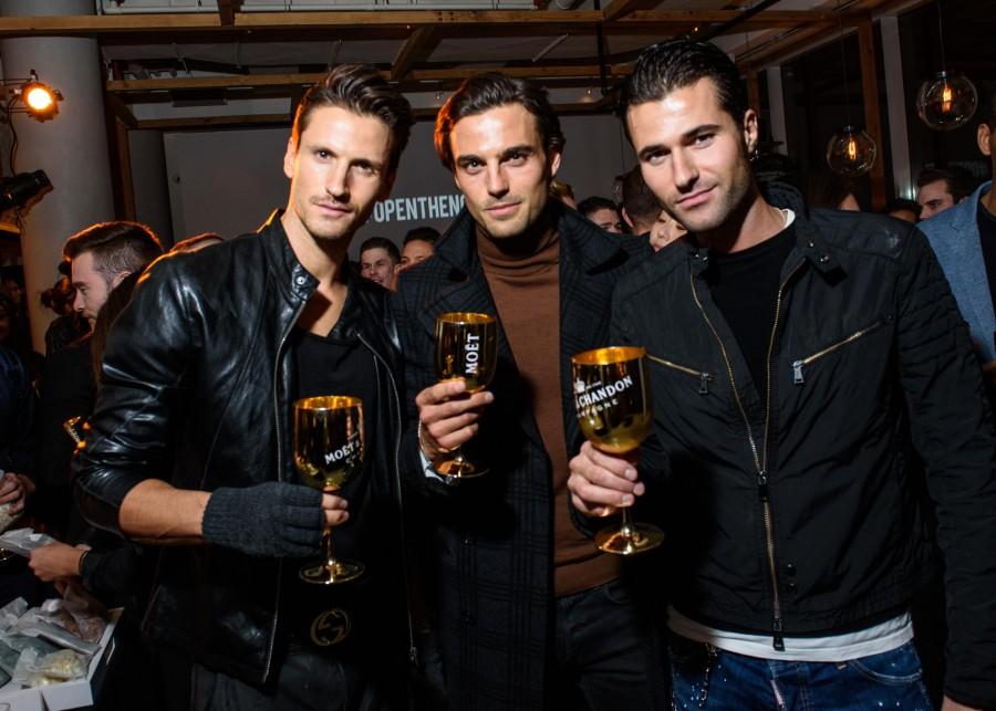 David Florentin, Peter Badenhop, & Alessandro Mele - Moet & Chandon
