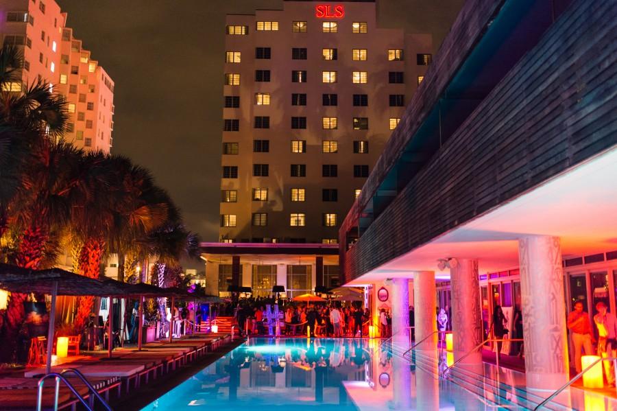 BOUNCE SPORTING CLUB Art Basel Edition at HYDE BEACH Miami at SLS South Beach During Art Basel