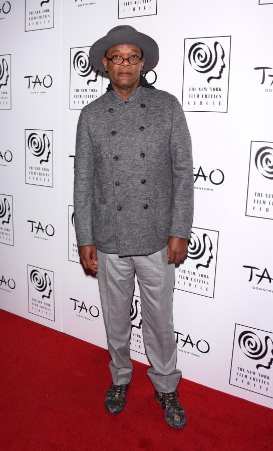 Samuel L. Jackson at NYFCC at TAO Downtown