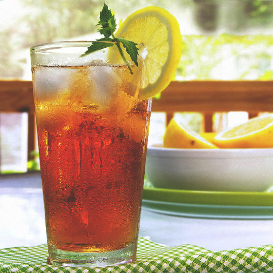 Front Porch Peach Tea