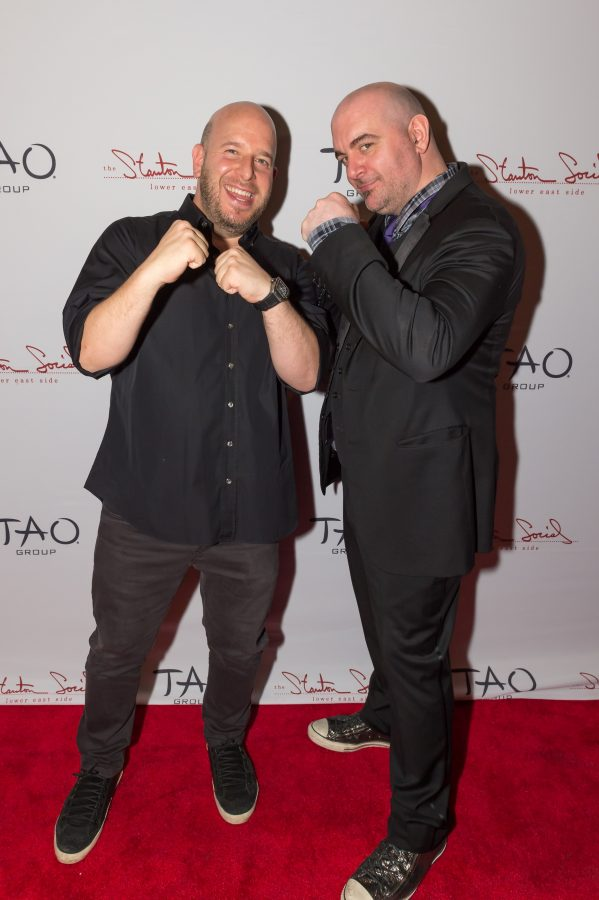 Noah Tepperberg & Chef Chris Santos
