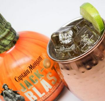 CAPTAIN MORGAN Releases First Pumpkin Spiced Rum to EVER Hit Shelves - The CAPTAIN MORGAN JACK-O'BLAST