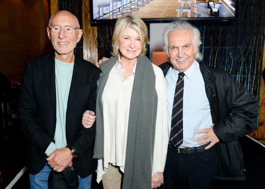 Meir Teper, Martha Stewart, Tony Shafrazi