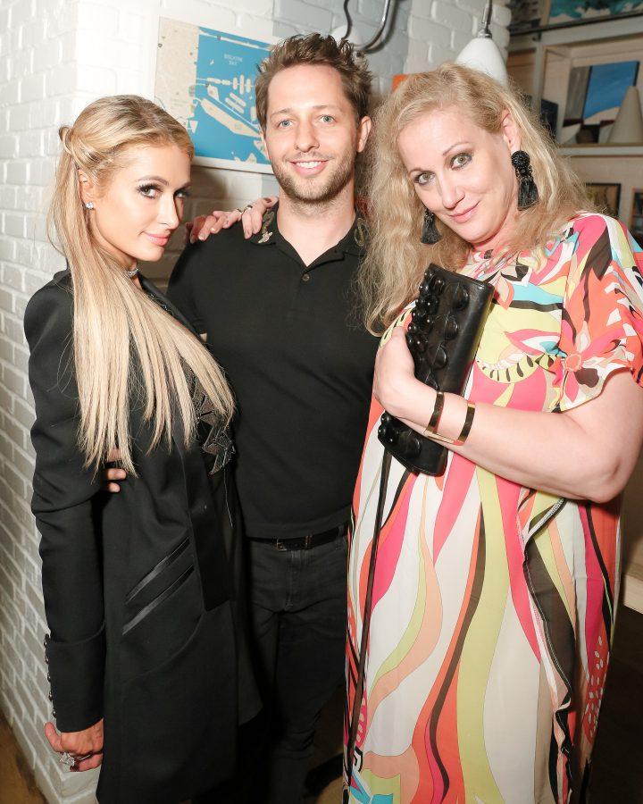 Paris Hilton, Derek Blasberg, Amy Sacco