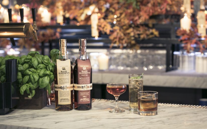 Basil Hayden's Holiday Cocktails