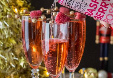 Smirnoff Sparkling Raspberry Rose Cocktail