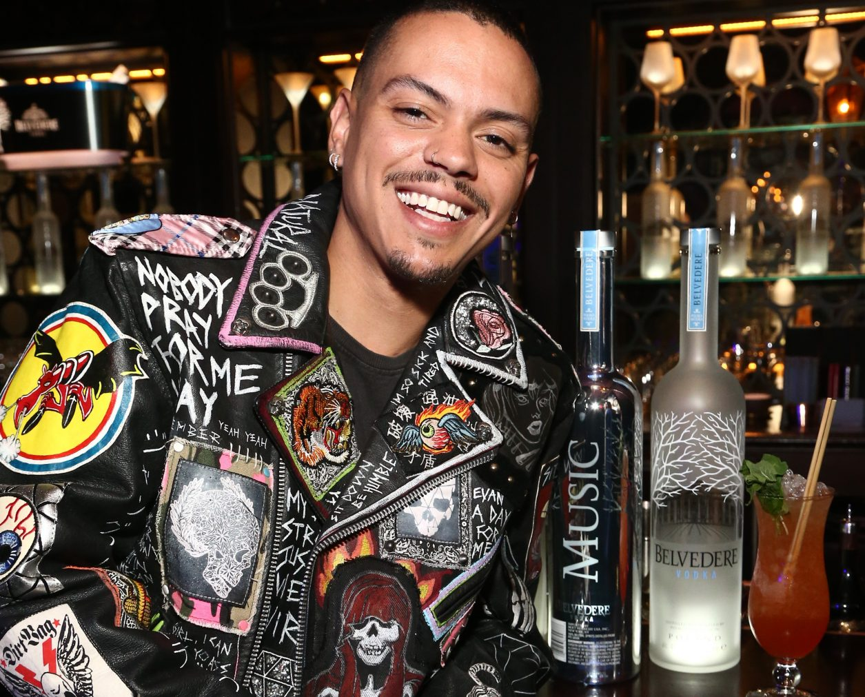 LOS ANGELES, CALIFORNIA - FEBRUARY 07:  Evan Ross at Belvedere Vodka Celebrates Warner Music Group's 61st Annual Grammy Award Nominees at the Pre-Award Show Party at the NoMad Hotel In LA on February 07, 2019 in Los Angeles, California. (Photo by Tommaso Boddi/Getty Images for Belvedere)
