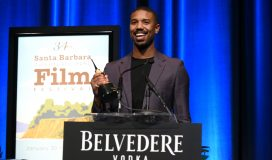 SANTA BARBARA, CALIFORNIA - FEBRUARY 07:  Belvedere Vodka Celebrates Michael B. Jordan's Cinema Vanguard Award at the 34th annual Santa Barbara International Film Festival on February 07, 2019 in Santa Barbara, California. (Photo by Andrew Toth/Getty Images for Belvedere Vodka)