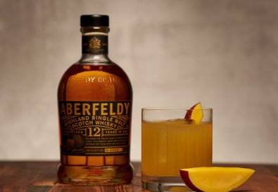 Aberfeldy_Takes Two to Mango_with bottle