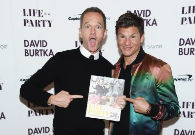 NEW YORK, NY - APRIL 15:  Cookbook author David Burtka and husband Neil Patrick Harris celebrate the launch of Life Is a Party with the Capital One Savor® credit card on April 15, 2019 at the Top of the Standard in New York City.  (Photo by Dimitrios Kambouris/Getty Images for Capital One)