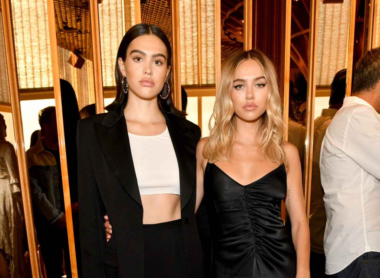 NEW YORK, NEW YORK - SEPTEMBER 04: Amelia Hamlin and Deliah Belle Hamlin attend the E!, ELLE, and IMG NYFW kick-off party hosted by TRESemmé on September 04, 2019 in New York City. (Photo by Craig Barritt/Getty Images for ELLE)
