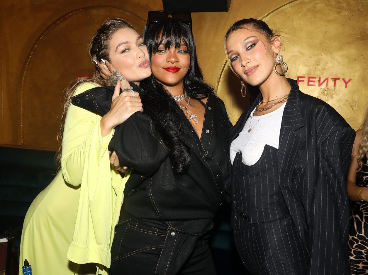 Gigi Hadid, Rihanna, Bella Hadid