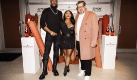 LaQuan Smith, Lil Kim, Jonathan Mannion