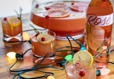 SVEDKA Rosé Holiday