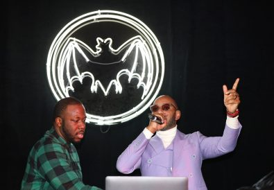 MIAMI BEACH, FLORIDA - DECEMBER 05: Swizz Beatz preforms onstage during Rum Room: Miami with Swizz Beatz presented by BACARDI at Faena Forum on December 05, 2019 in Miami Beach, Florida. (Photo by Tasos Katopodis/Getty Images for BACARDI Rum)