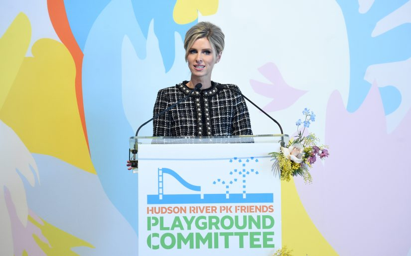 NEW YORK, NEW YORK - JANUARY 24: Nicky Hilton speaks onstage during the Fifth Annual Hudson River Park Friends Playground Committee Luncheon at Current at Chelsea Piers on January 24, 2020 in New York City. (Photo by Jamie McCarthy/Getty Images for Friends Of Hudson River Park)