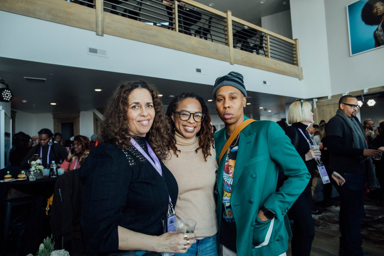 Lena Waithe and guests