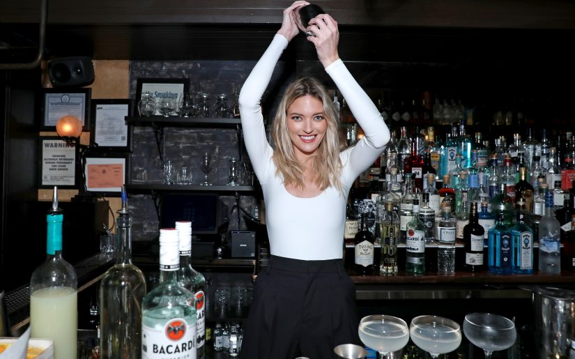 NEW YORK, NEW YORK - FEBRUARY 06: Martha Hunt Goes Back To The Bar at Bathtub Gin on February 06, 2020 in New York City. (Photo by Anna Webber/Getty Images for Bacardi)