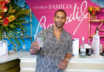 MIAMI BEACH, FLORIDA - FEBRUARY 01: Former NFL player Victor Cruz attends BACARDI's Big Game Party at Surfcomber Hotel on February 01, 2020 in Miami Beach, Florida. (Photo by Alexander Tamargo/Getty Images for BACARDI)