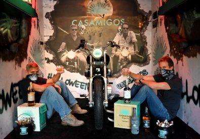 George Clooney and Rande Gerber prepare Casamigos Halloween comes to you - photo credits - Courtesy of Casamigos Kevin Mazur for Casamigos