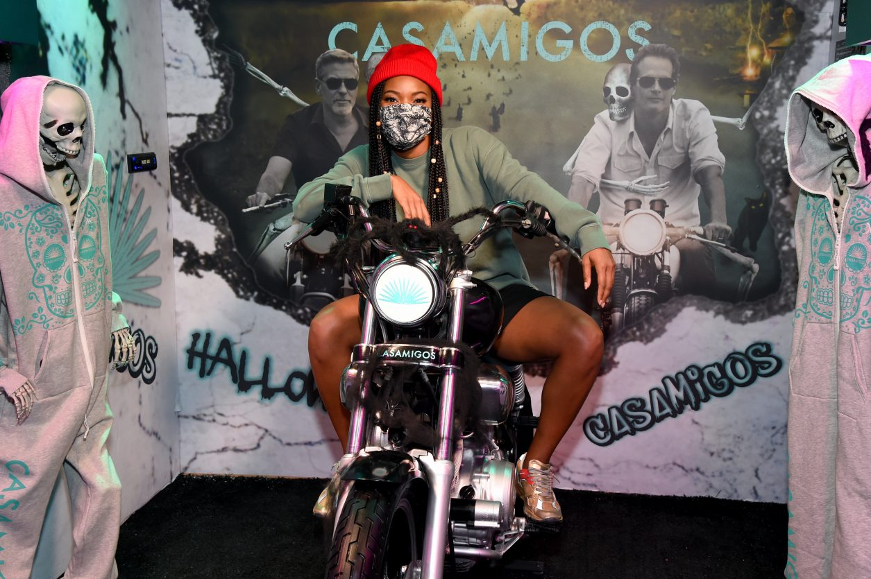LOS ANGELES, CALIFORNIA - OCTOBER 29: Gabrielle Union attends Casamigos Halloween Comes to You in Los Angeles, California. (Photo by Michael Kovac/Getty Images for Casamigos)
