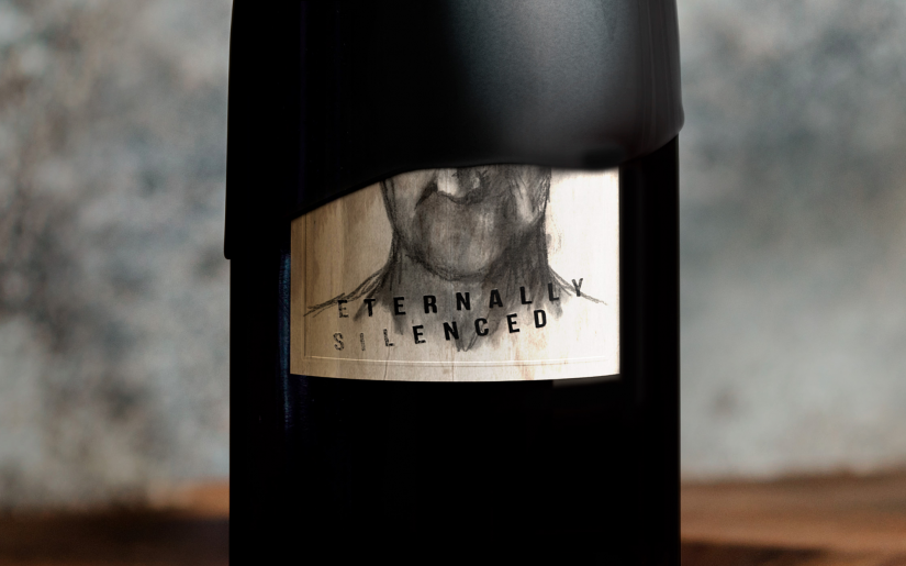 High-Res PNG- Label Eternally Silenced Pinot Noir 750ml PDP Image - Master Brand