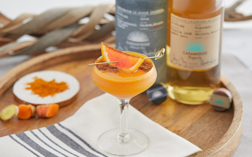 Turmeric Orange Margarita