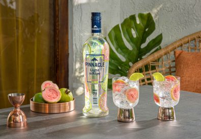 Pinnacle Light & Ripe Guava Lime sparkler