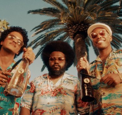 Bruno Mars Campaign_L to R_ Bruno Mars, James Fauntleroy, Anderson .Paak